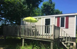 mobil home 6personne Camping Tete Noire